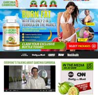 Garcinia Extra website