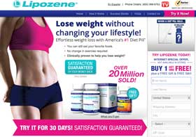 Lipozene-website