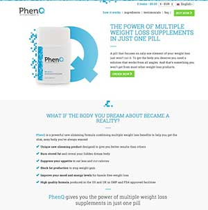 PhenQ official UK website