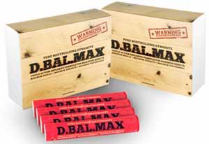 D- bal max bottle