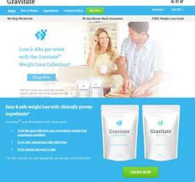 Gravitate website