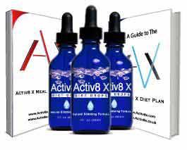 Activ8X diet drops