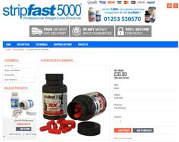 Stripfast 5000 website