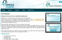 XLS Medical website