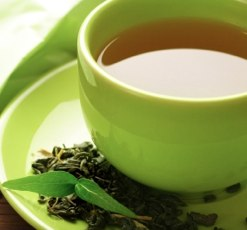 Green tea for fat burning