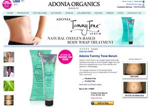 Adonia website