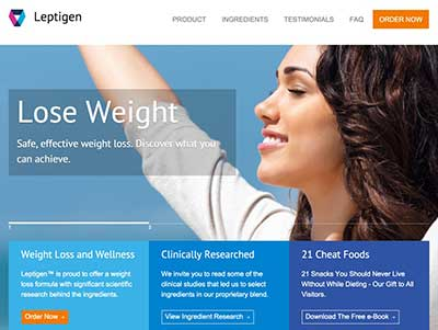 Leptigen Website
